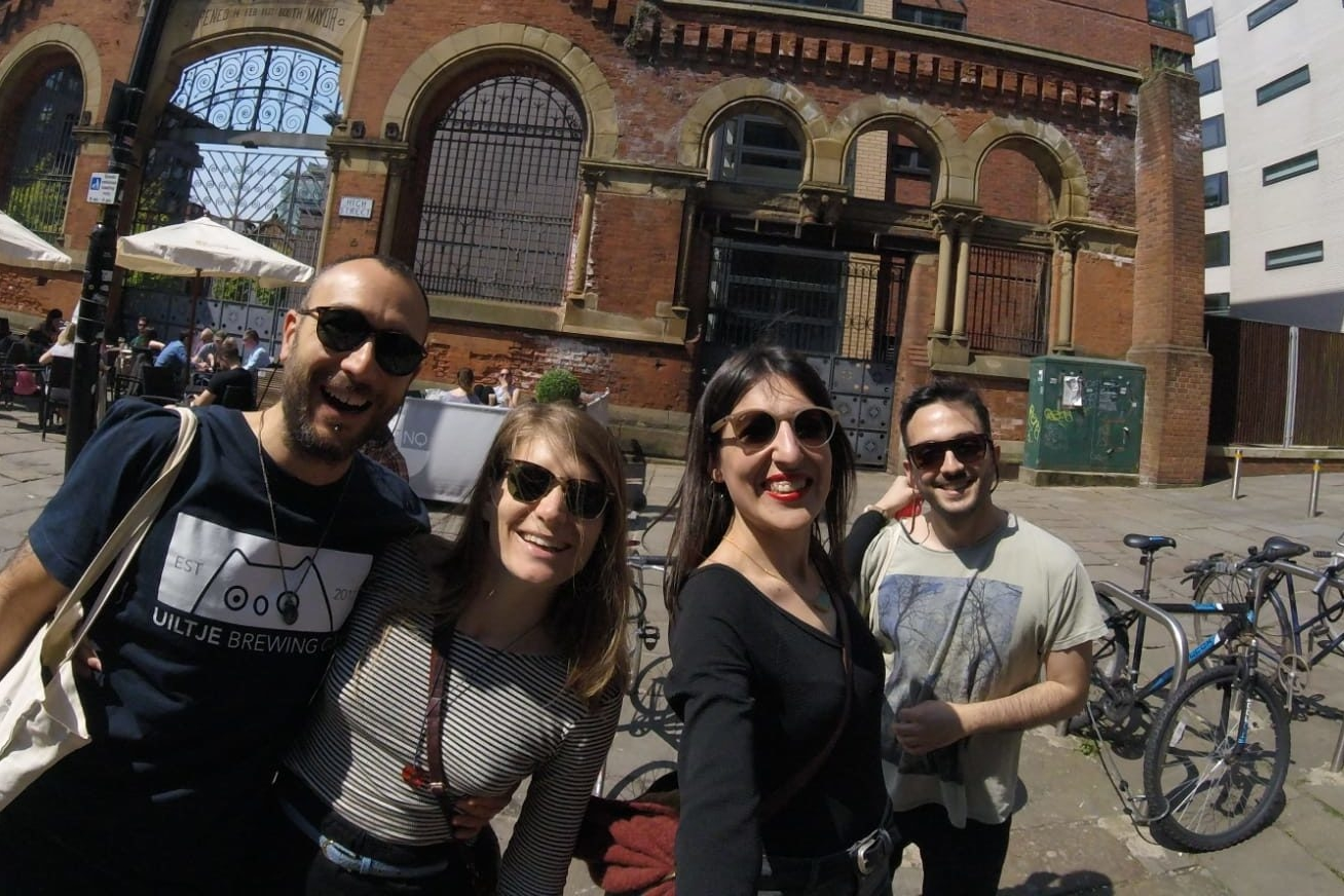 Friends in Manchester