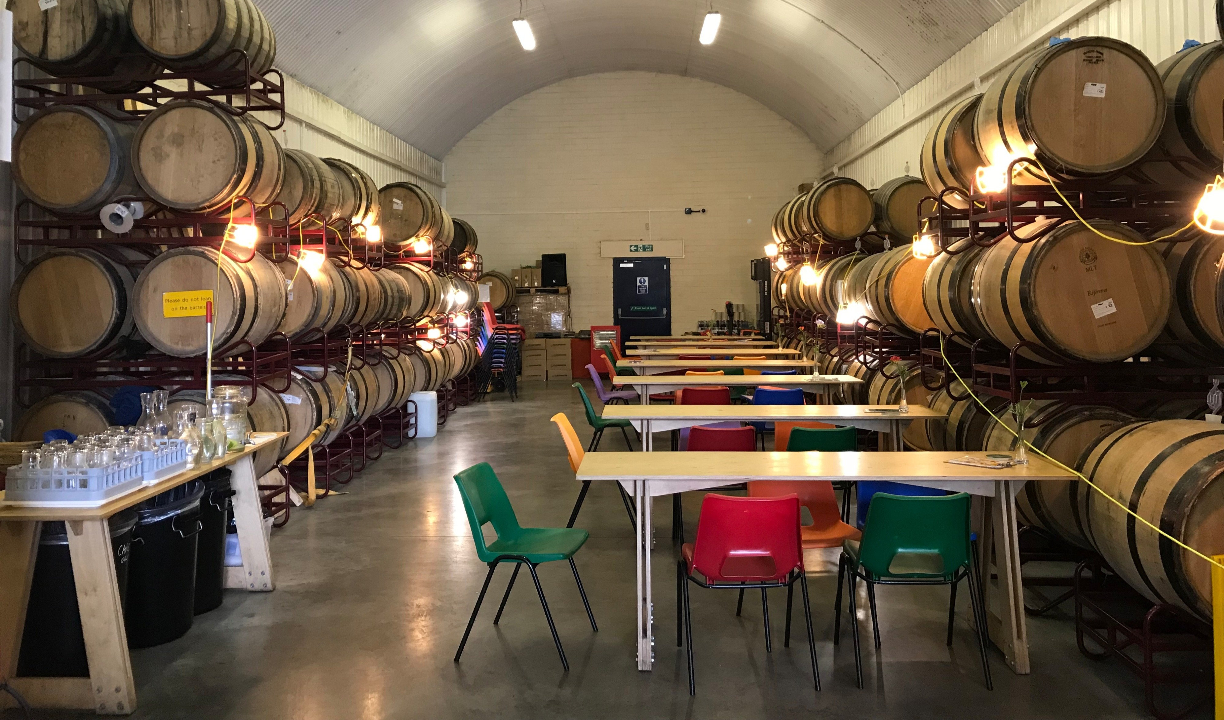 Cloudwater Barrel Store Tap room in Manchester