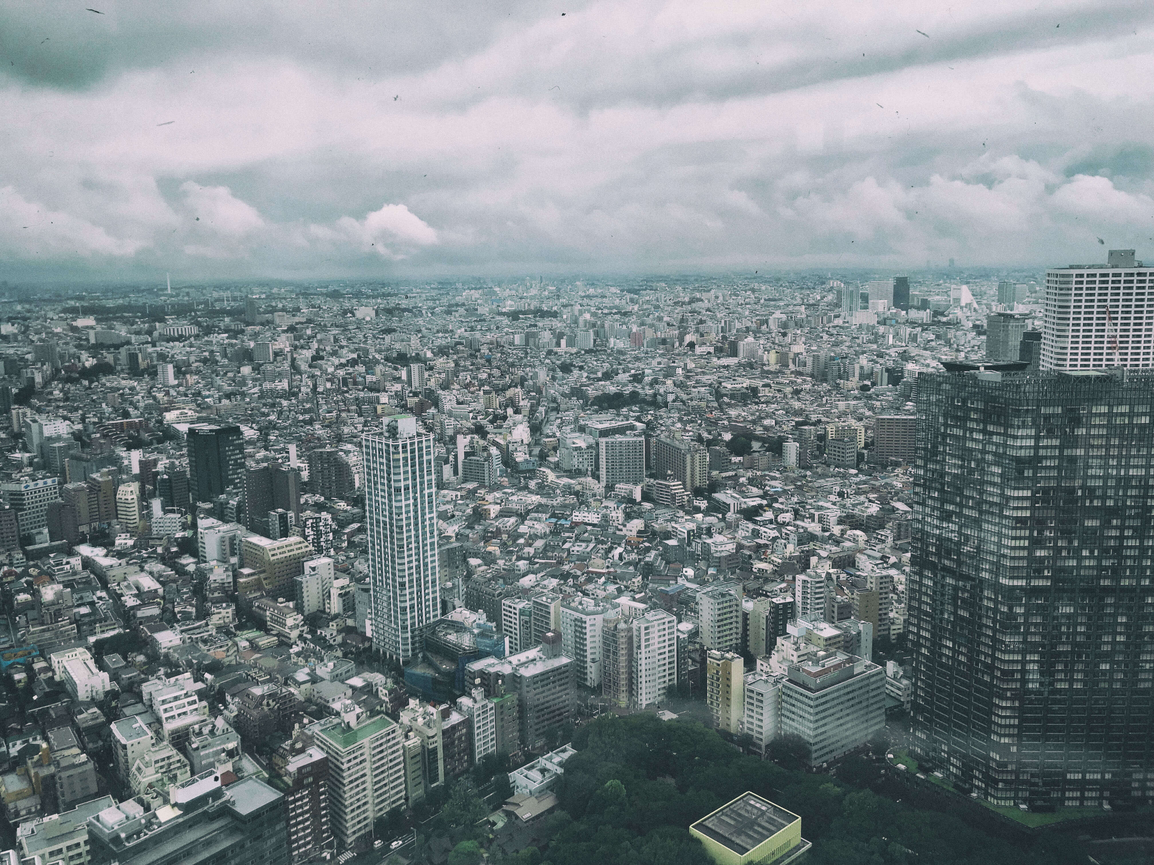 View of Tokyo from Metropolitan Government Building