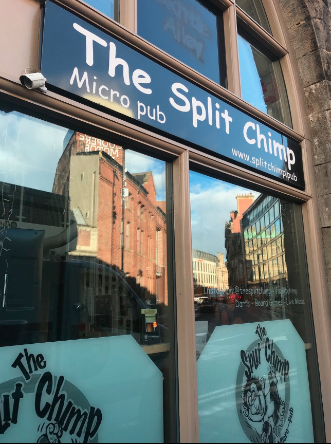 The Split Chimp in Newcastle Upon Tyne