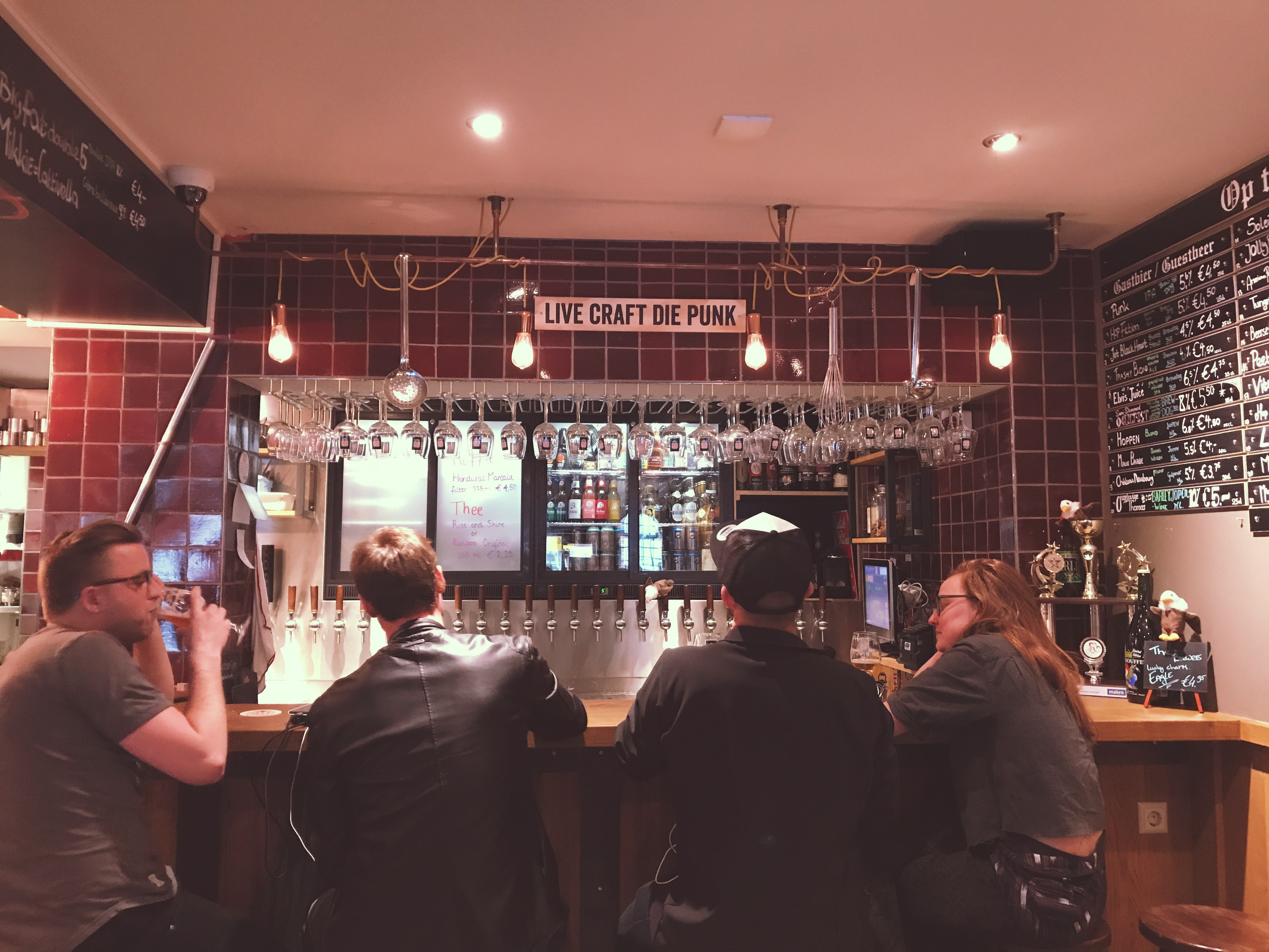 'cause BEER loves FOOD, craft beer bars in Amsterdam