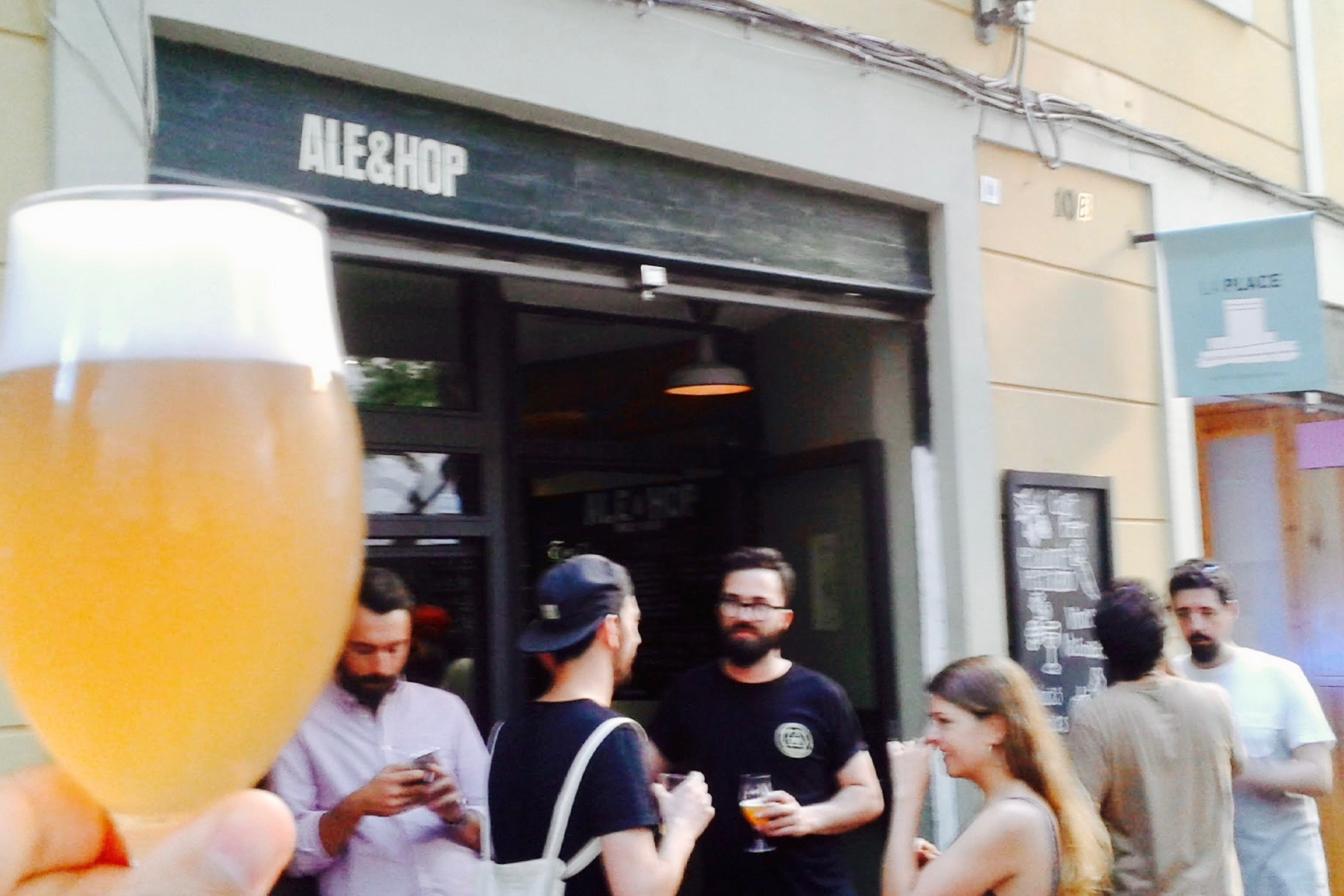 Cheers to Ale & Hop in Barcelona