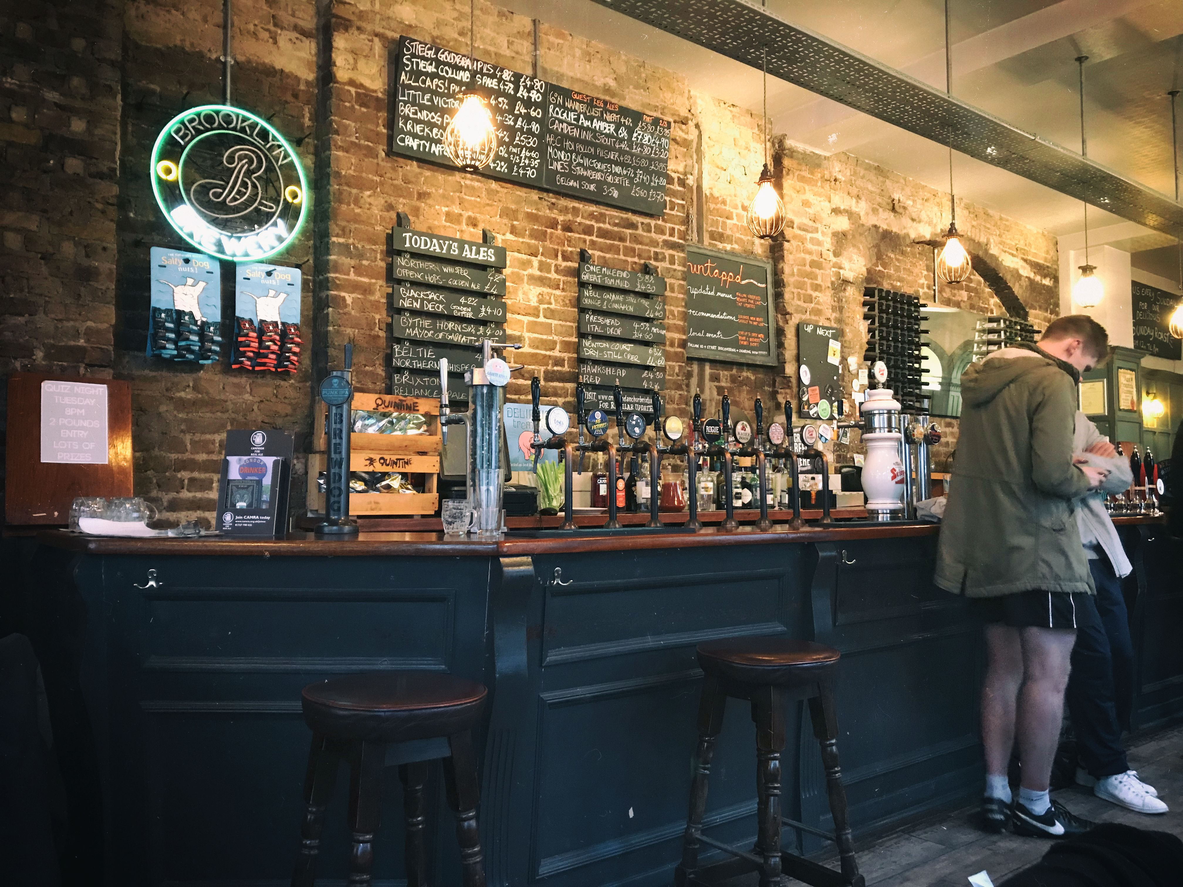 Crown & Anchor, craft beer bars in London