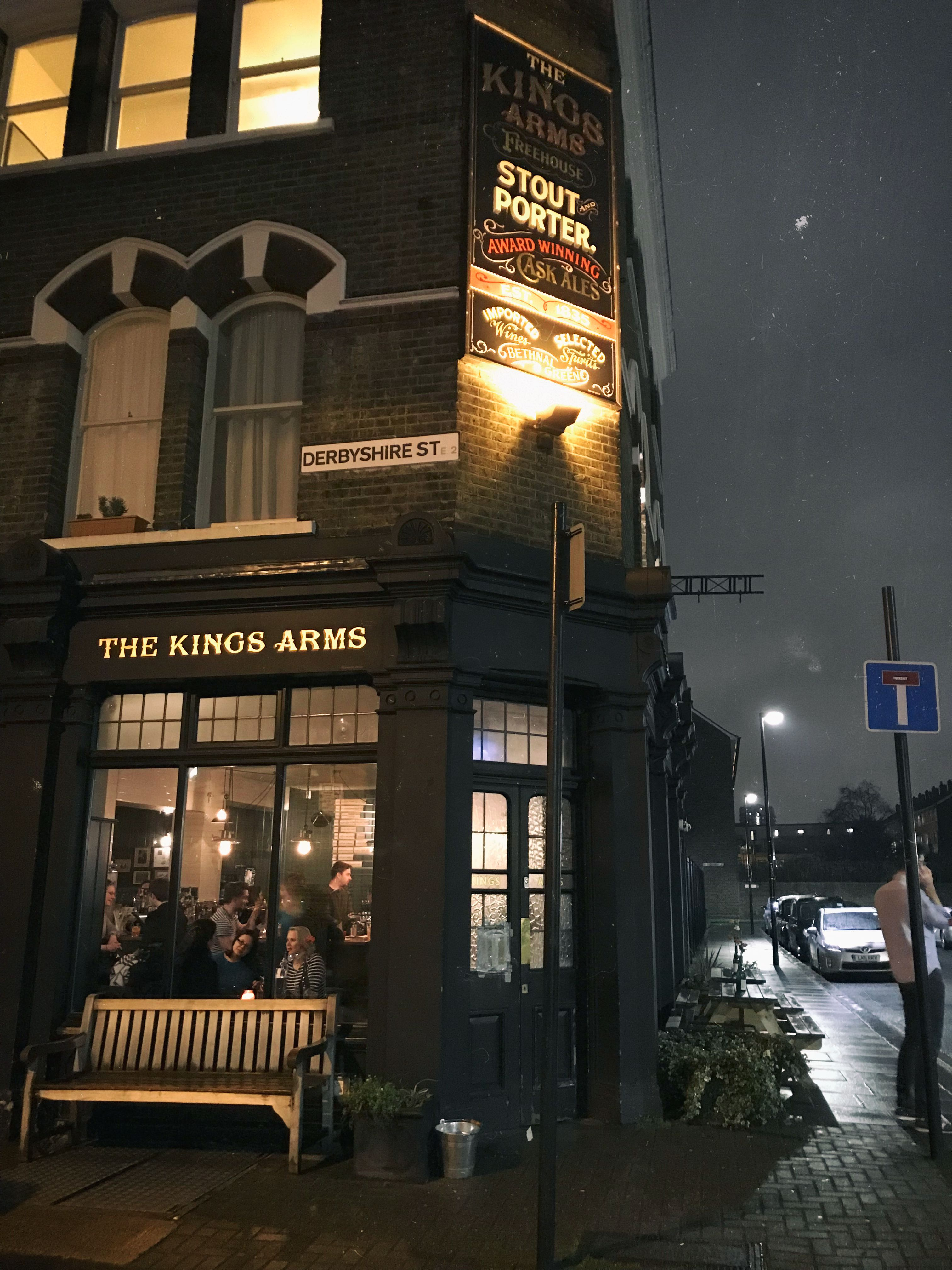 The Kings Arms, craft beer bars in London