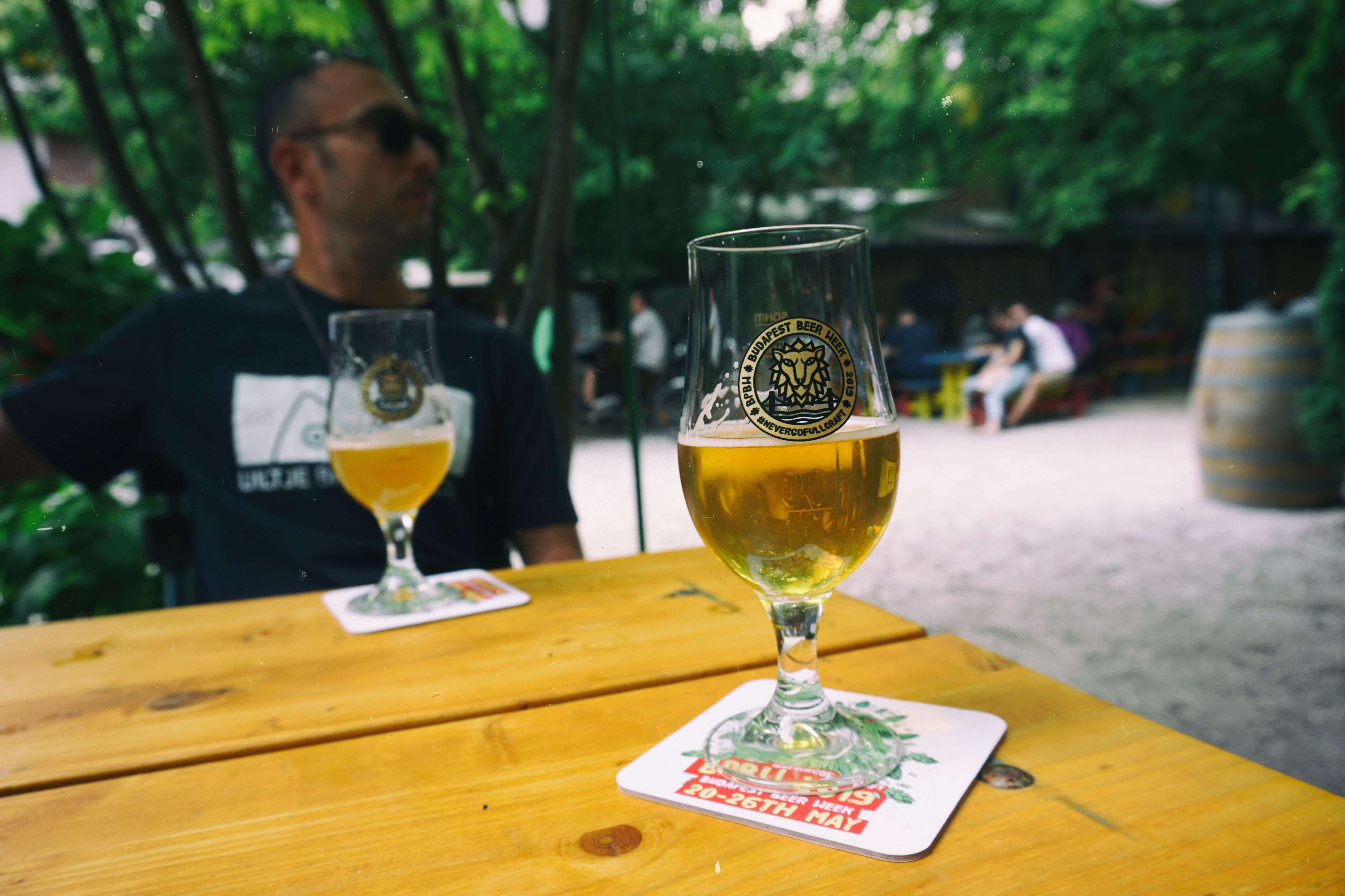 Budapest Beer Week 2019 glass