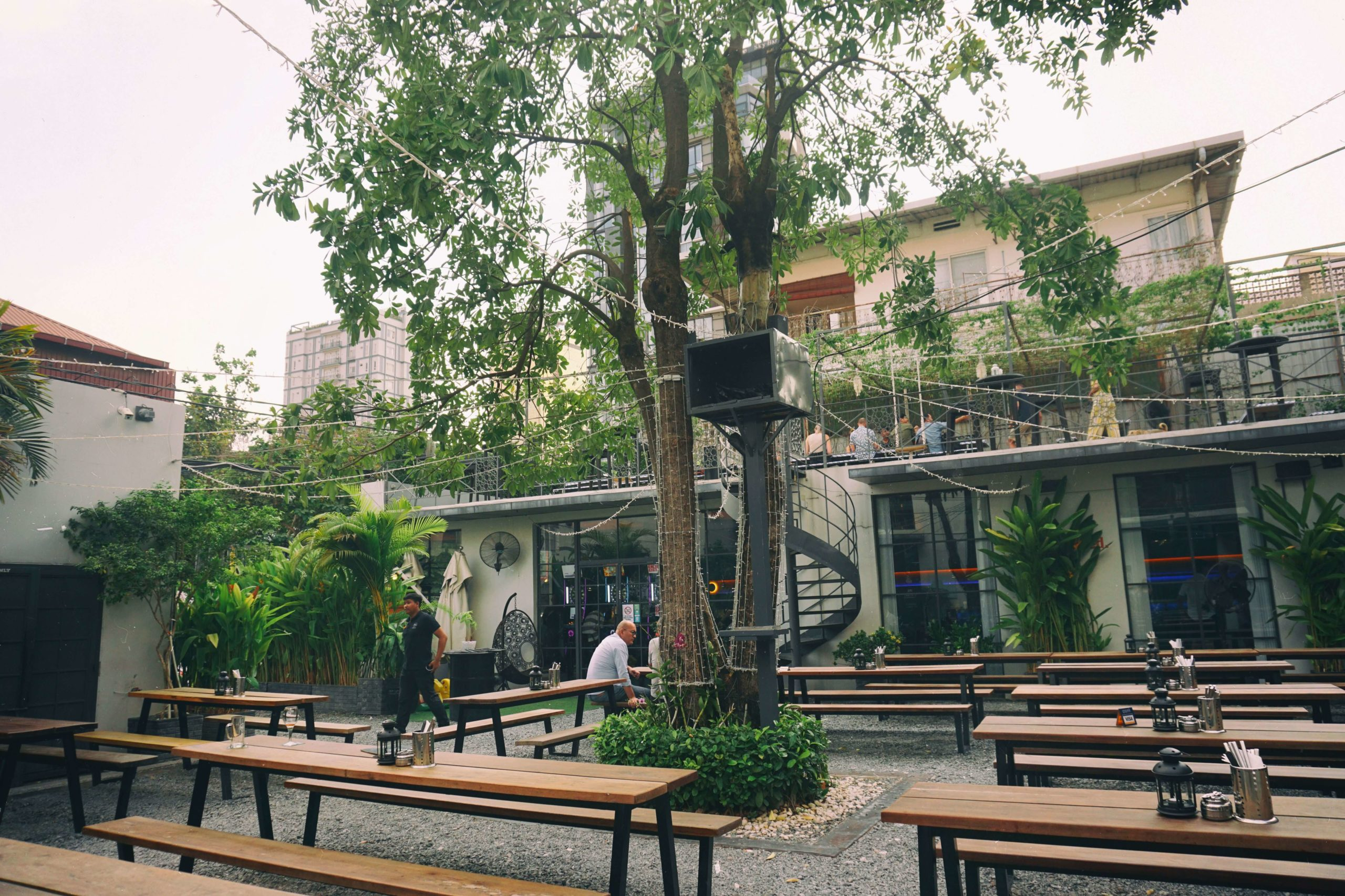 Hops Craft Beer Garden in Phnom Penh