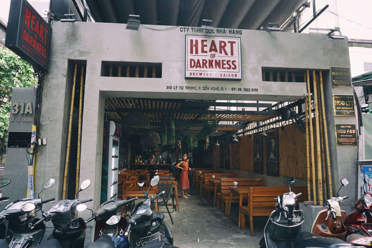 Heart of Darkness brewery in Saigon
